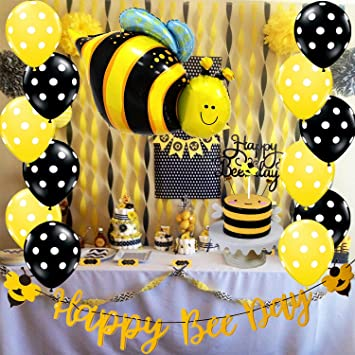 Bee Decorations - An Affordable Way to Have Admirable Party Venue