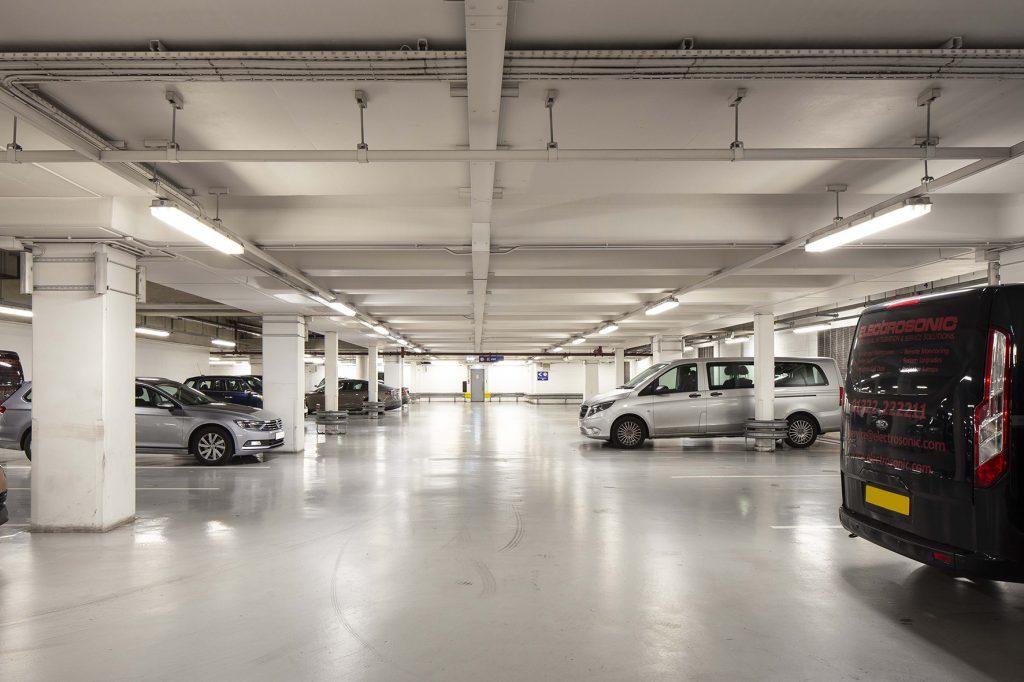Car park led lighting
