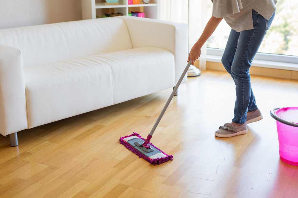 steam mop correctly